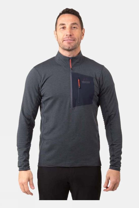 Mountain Equipment Mens Lumiko Zip T Ombre Blue/Cosmos