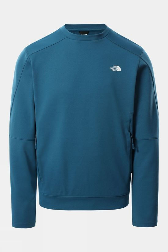 The North Face Mens Lightning Pullover Moroccan Blue Heather