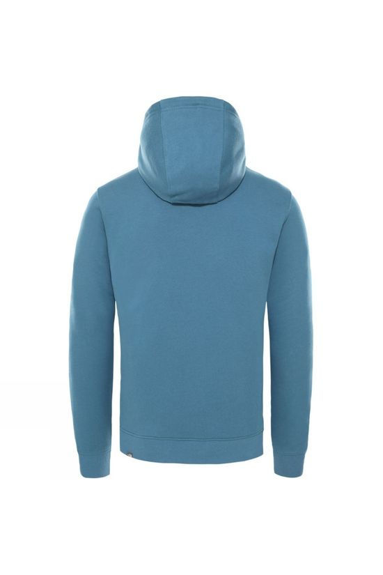 The North Face Mens Drew Peak Pullover Hoodie Mallard Blue/TNF White