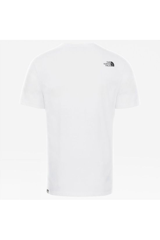 The North Face Mens Mountain Line Tee TNF White/Summit Gold