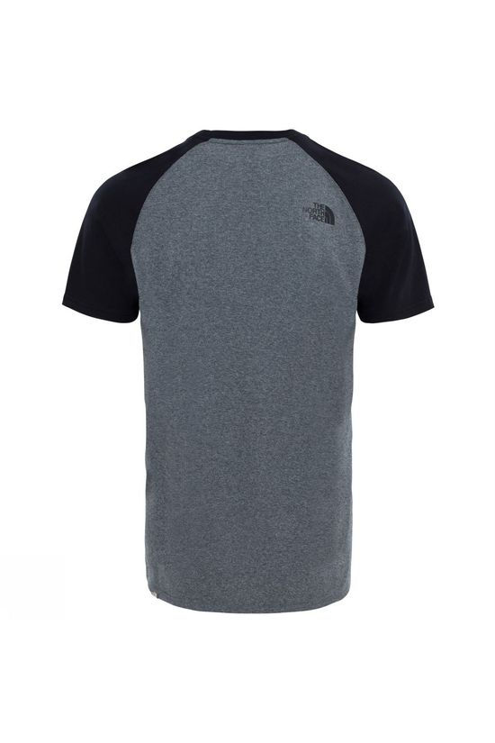 The North Face Mens Short Sleeve Raglan Easy Tee TNF Medium Grey Heather