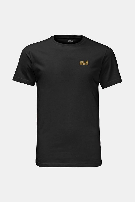Jack Wolfskin Mens Essential Tee Black