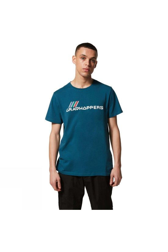 Craghoppers Mens Lowood Short Sleeve T-Shirt True Teal