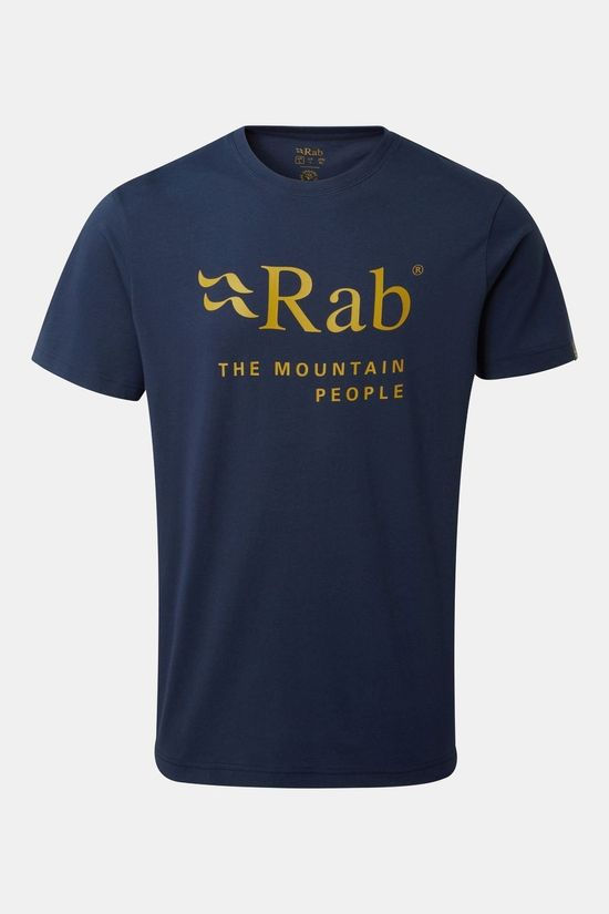 Rab Mens Stance Mountain T-shirt Deep Ink