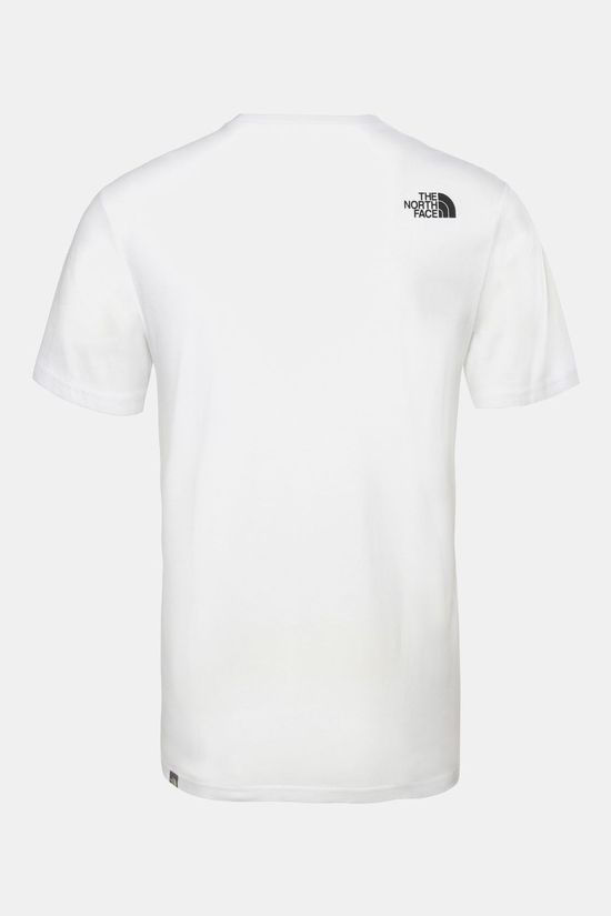 The North Face Mens Walls Are For Climbing Tee TNF White