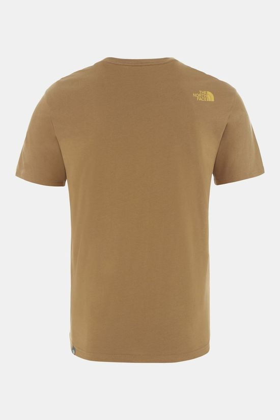 The North Face Mens Graphic Earthday  Tee British Khaki