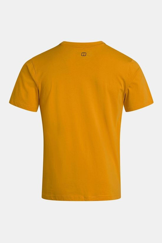 Berghaus Mens Modern Logo T-Shirt Sunflower
