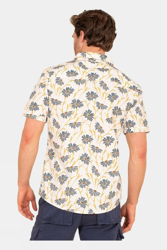 Brakeburn Mens Sunflower Shirt Yellow