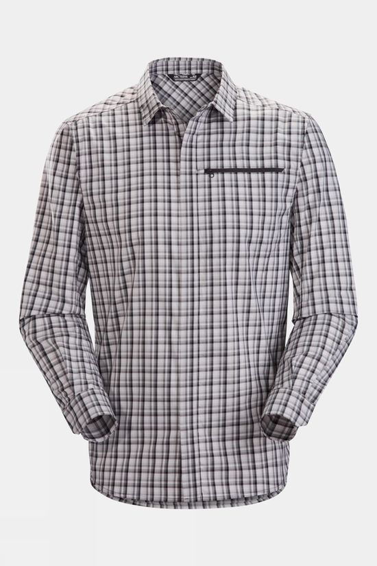Arc'teryx Mens Kaslo LS Shirt Binary Pixel