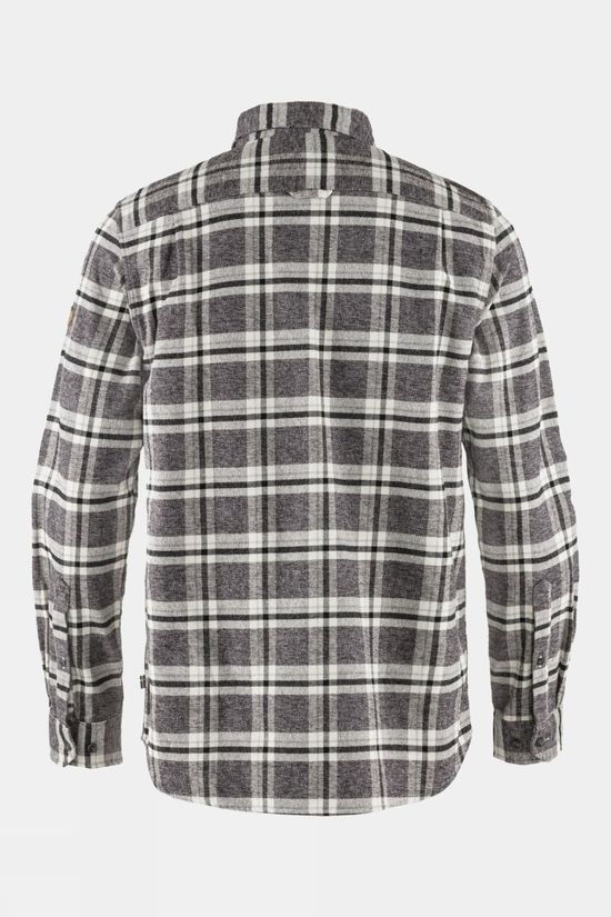 Fjallraven Men's Övik Heavy Flannel Shirt Dark Grey