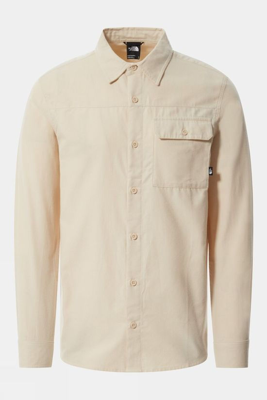 The North Face Long Sleeve Pinecrest Shirt Bleached Sand