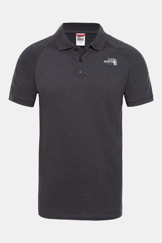 The North Face Mens Raglan Jersey Polo TNF Black