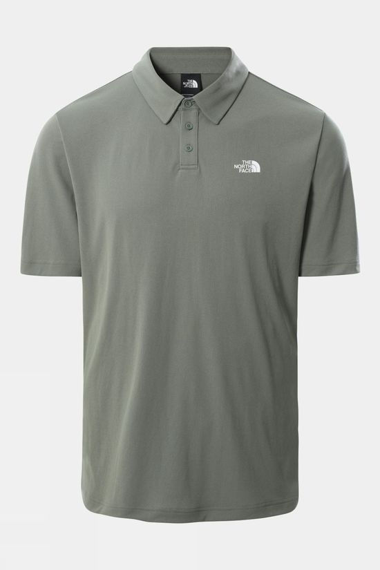The North Face Mens Tanken Polo Agave Green