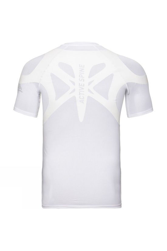 Odlo Mens Active Spine Light Base Layer Top White