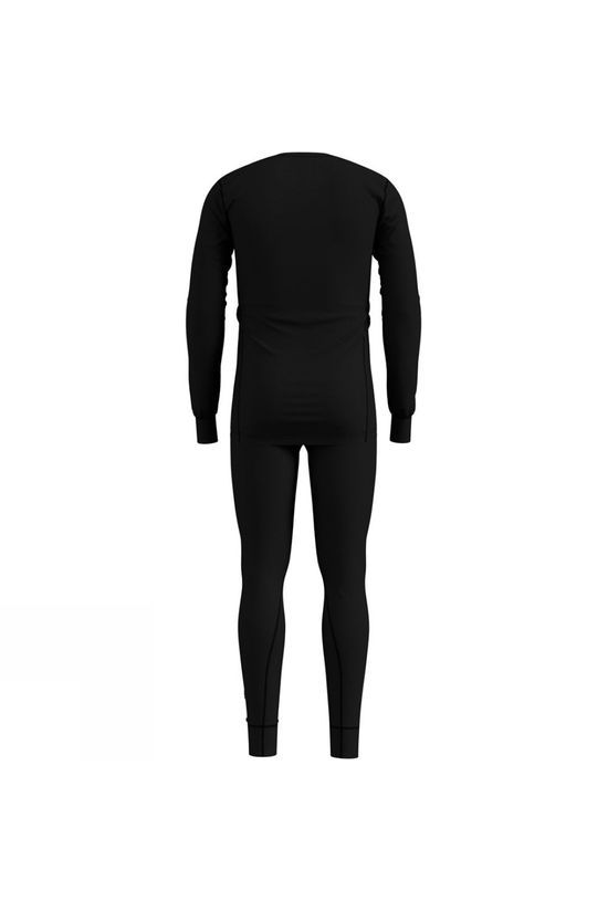 Odlo Mens Active Warm Long Sleeve Base Layer Set Black