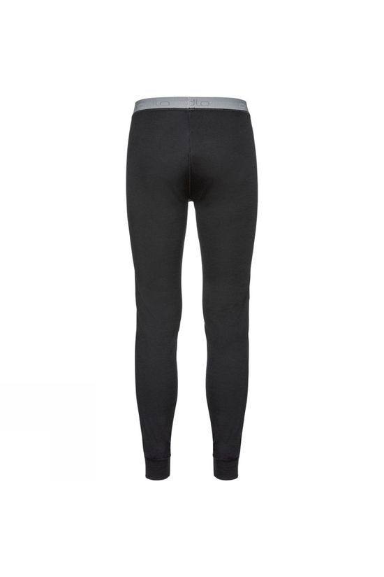 Odlo Mens Natural 100% Merino Warm Base Layer Pants Black