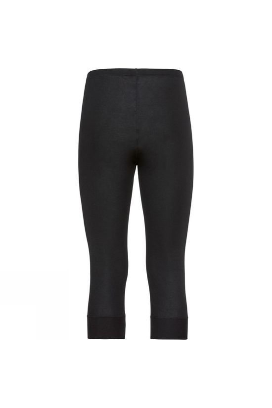 Odlo Mens Active Warm 3/4 Base Layer Pants Black