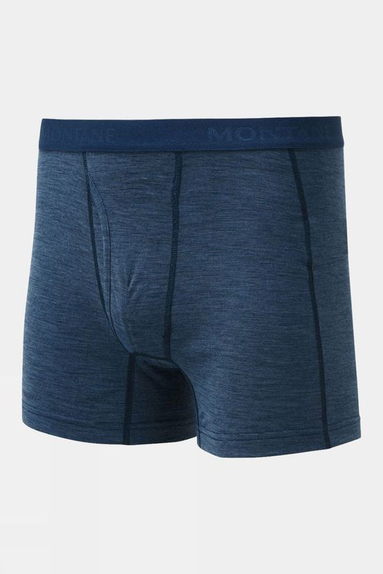 Montane Mens Primino 140 Boxers Narwhal Blue