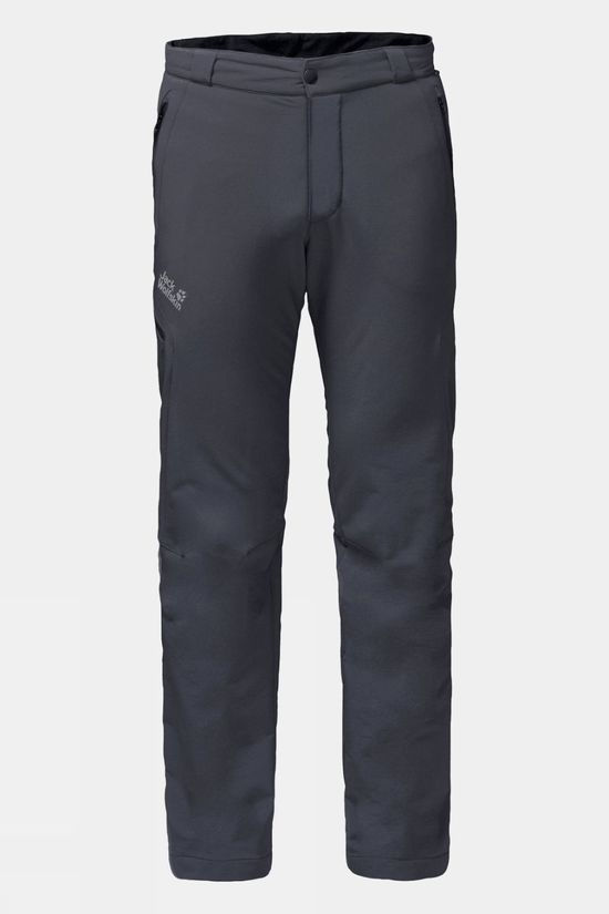Jack Wolfskin Mens Activate Thermic Pants Ebony