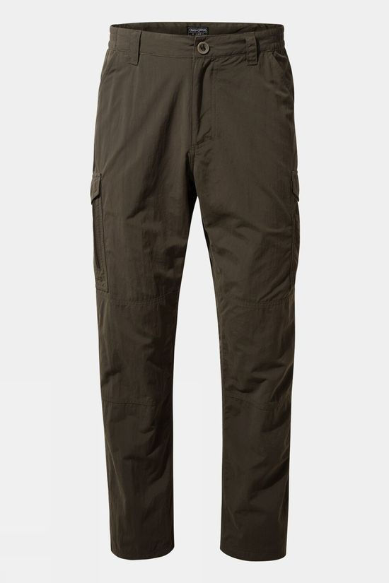 Craghoppers Mens NosiLife Cargo II Trousers Woodland Green