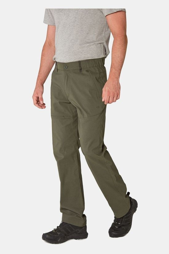 Craghoppers Mens Kiwi Pro II Trousers Dark Khaki