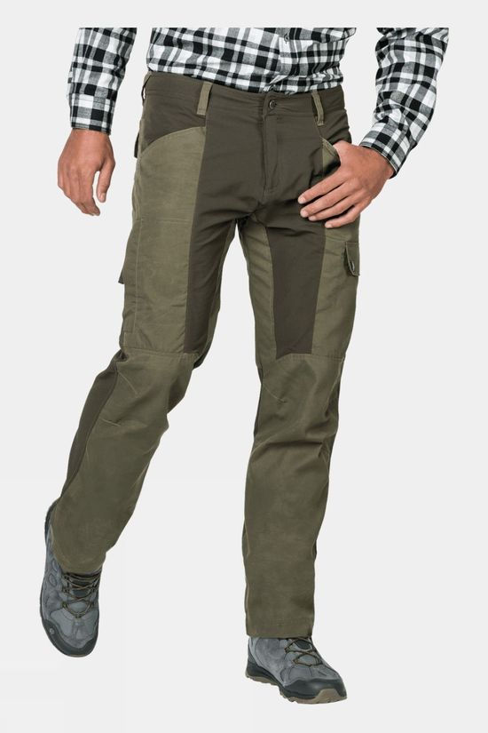 Jack Wolfskin Mens Dawson Flex Pants Woodland Green