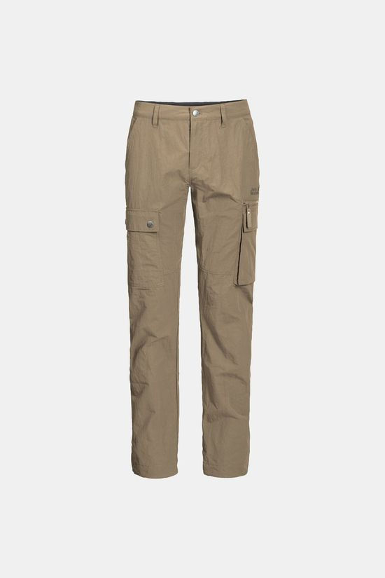 Jack Wolfskin Mens Lakeside Pants Sand Dune