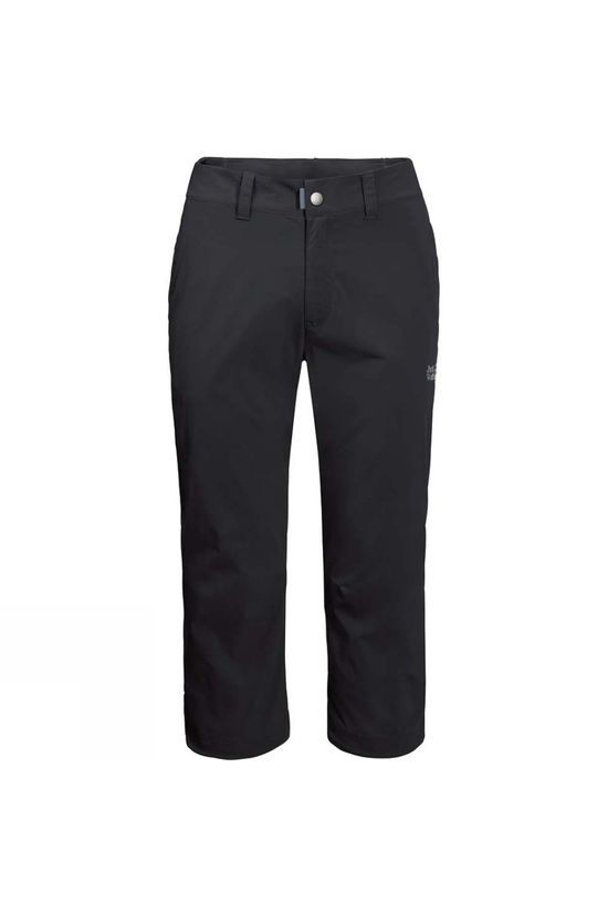 Jack Wolfskin Mens Activate Light 7/8 Pants Black
