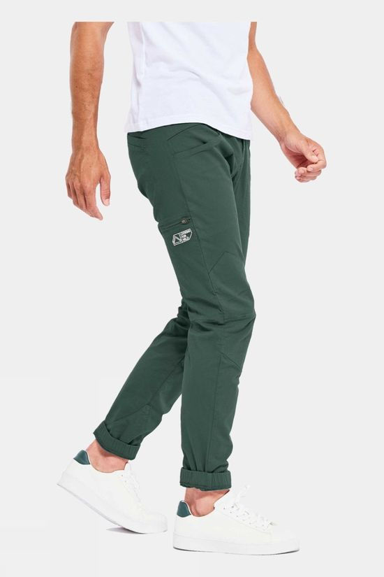 Looking for Wild Mens Fitz Roy Pants Trekking Green
