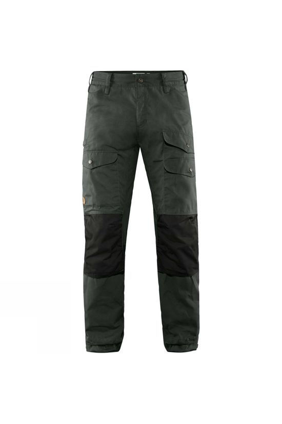 Fjallraven Men's Vidda Pro Ventilated Trousers Dark Grey-Black