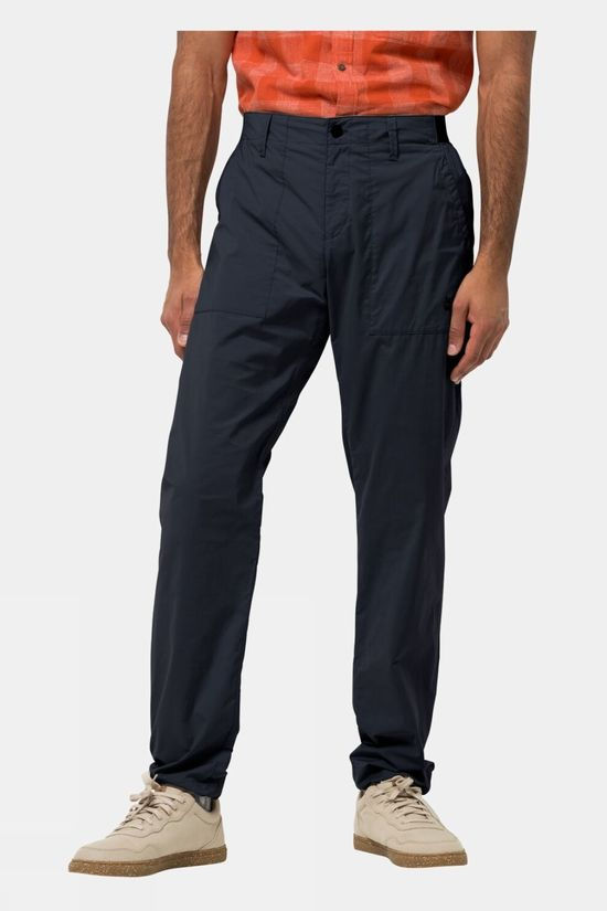 Jack Wolfskin Mens Tanami Pant Night Blue