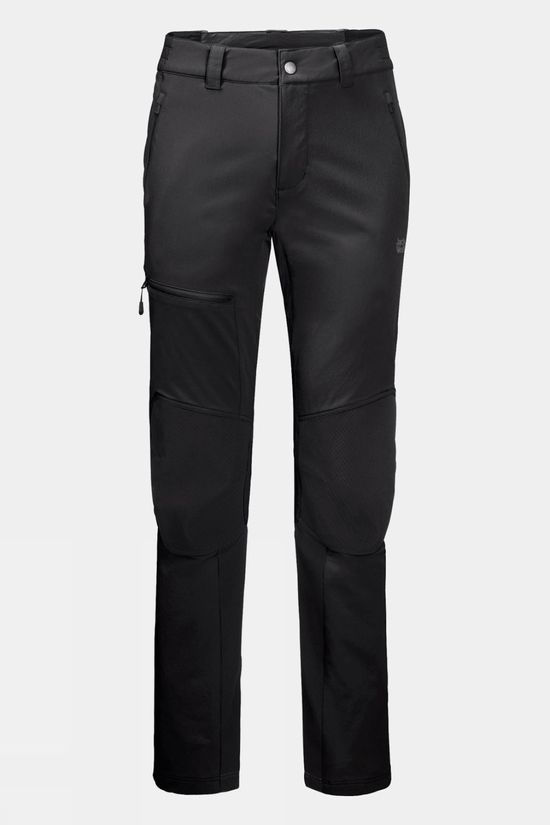 Jack Wolfskin Mens Rock Trek Pants Black