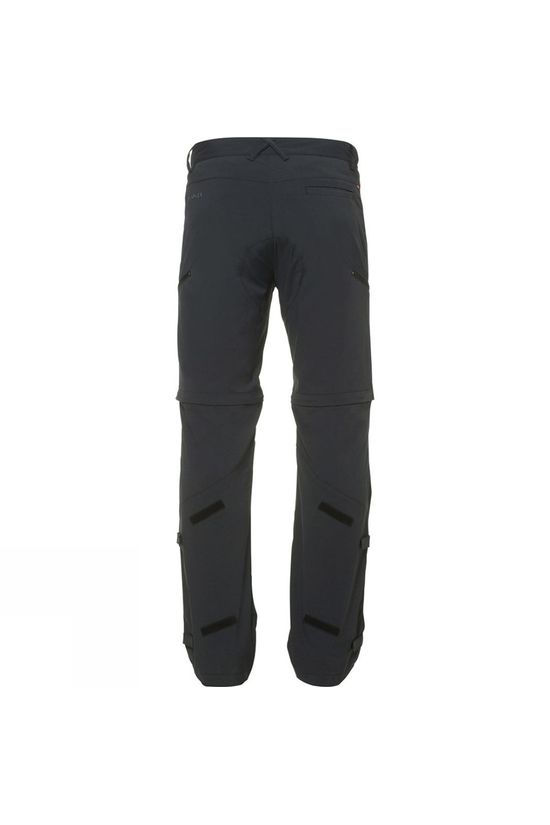 Vaude Mens Yaki Zip Off Pants Black