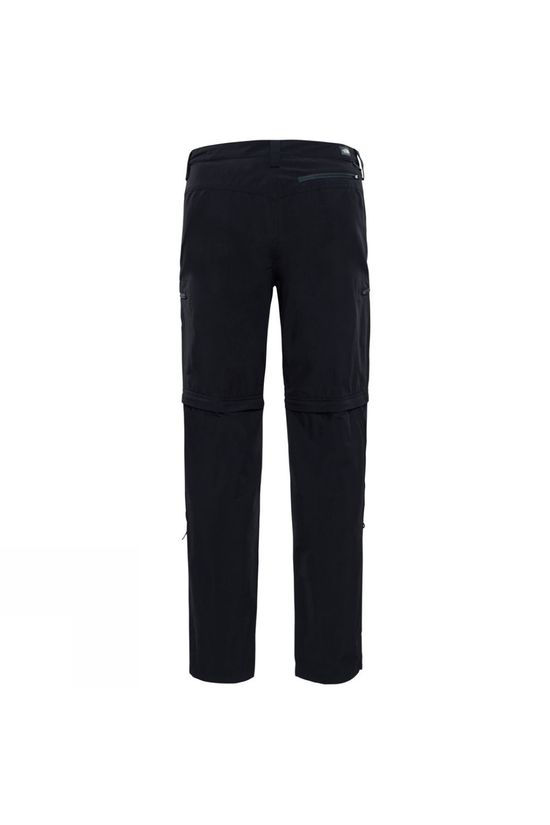 The North Face Mens Exploration Convertible Pants TNF Black