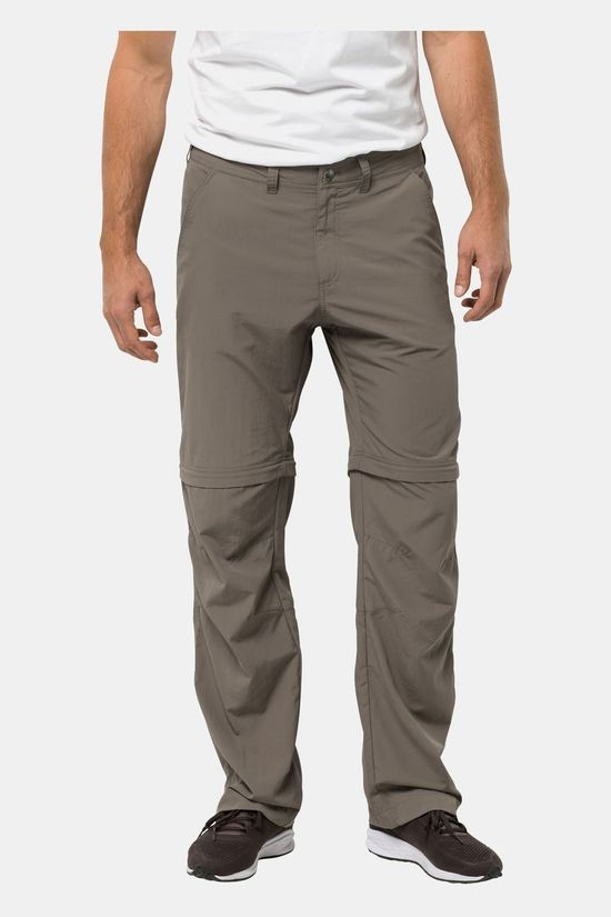 Jack Wolfskin Mens Canyon Zip Off Pants Siltstone