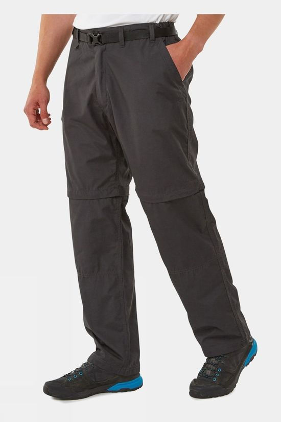Craghoppers Kiwi Convertible Trouser Black Pepper