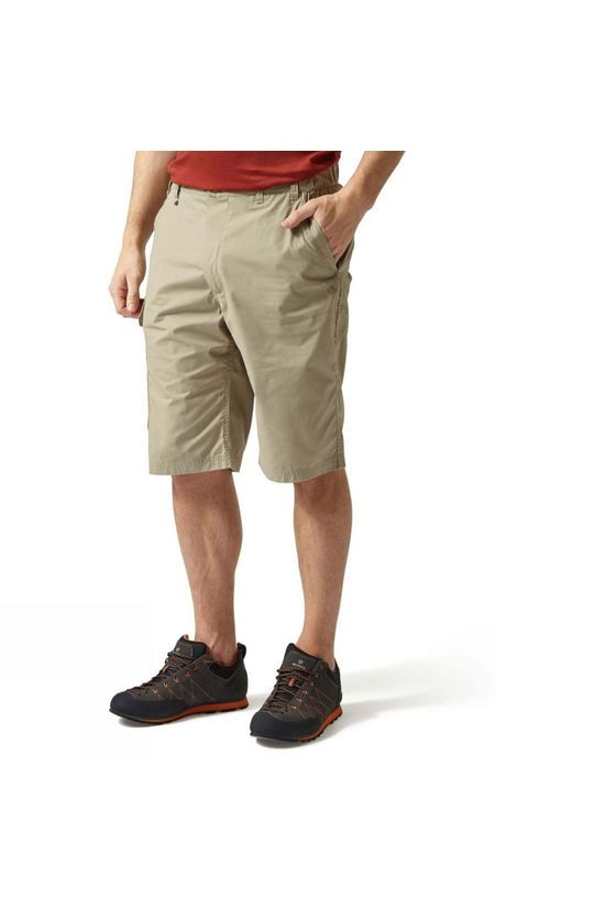 Craghoppers Mens Kiwi Long Shorts Rubble