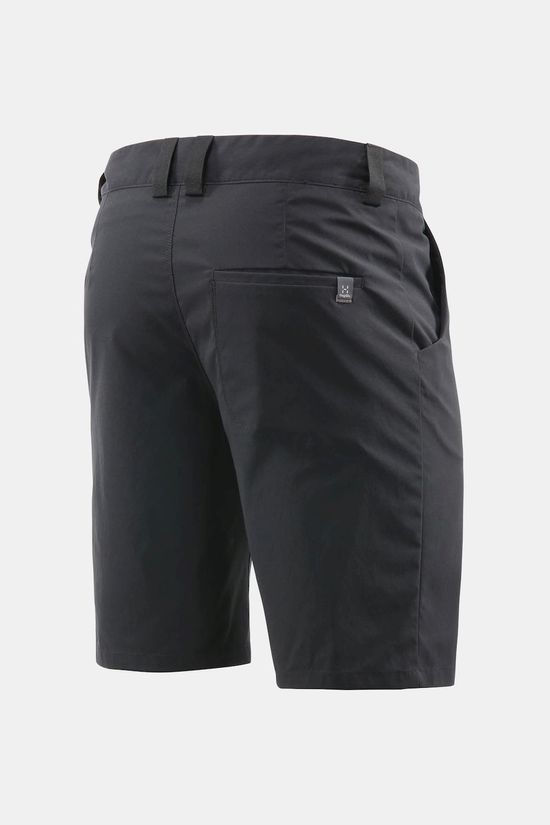 Haglofs Mens Mid Solid Shorts True Black