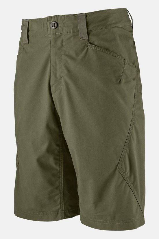 Patagonia Mens Venga Rock Shorts Industrial Green