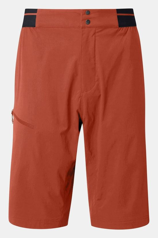 Rab Mens Torque Light Shorts Red Clay