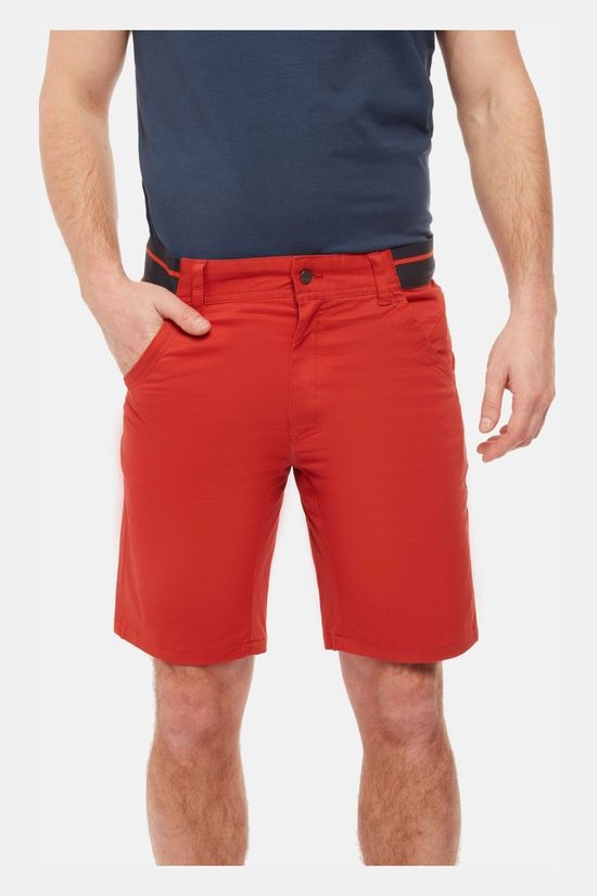 Rab Mens Zawn Shorts Red Clay