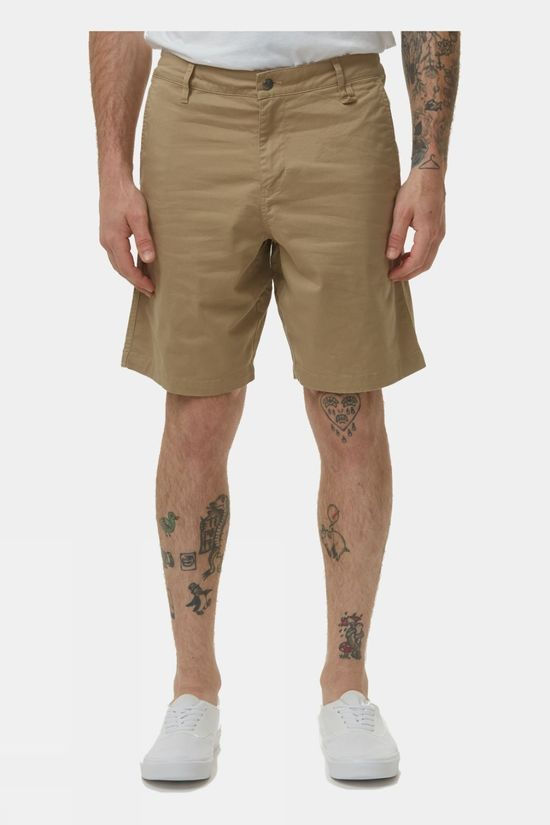 Tentree Mens Twill Latitude Short Khaki