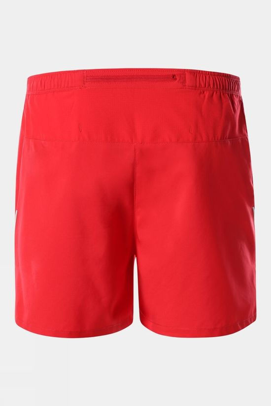 The North Face Mens MOVMYNT Short Tnf Red