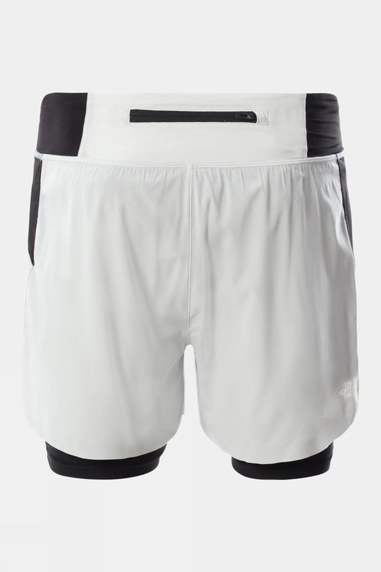 The North Face Mens Circadian Comp Lined Short Tin Grey/Tnf Black