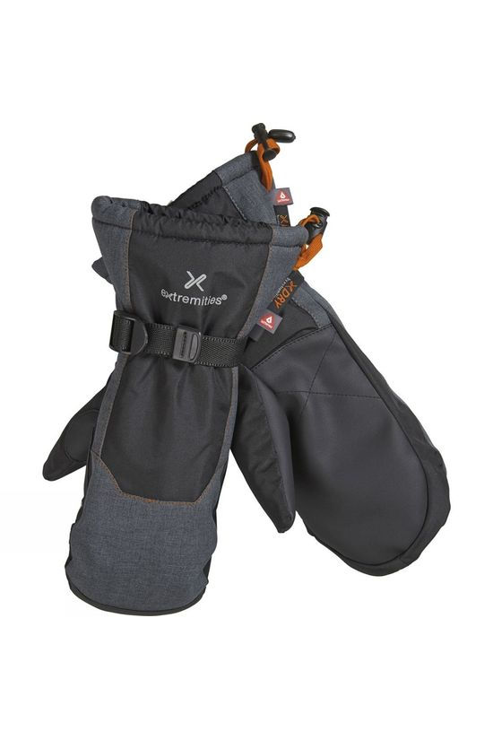 Extremities Mens Torres Peak Mitt Black/Grey