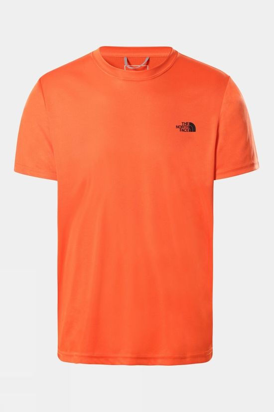The North Face Men Reaxion Amp Crew T-Shirt Flame