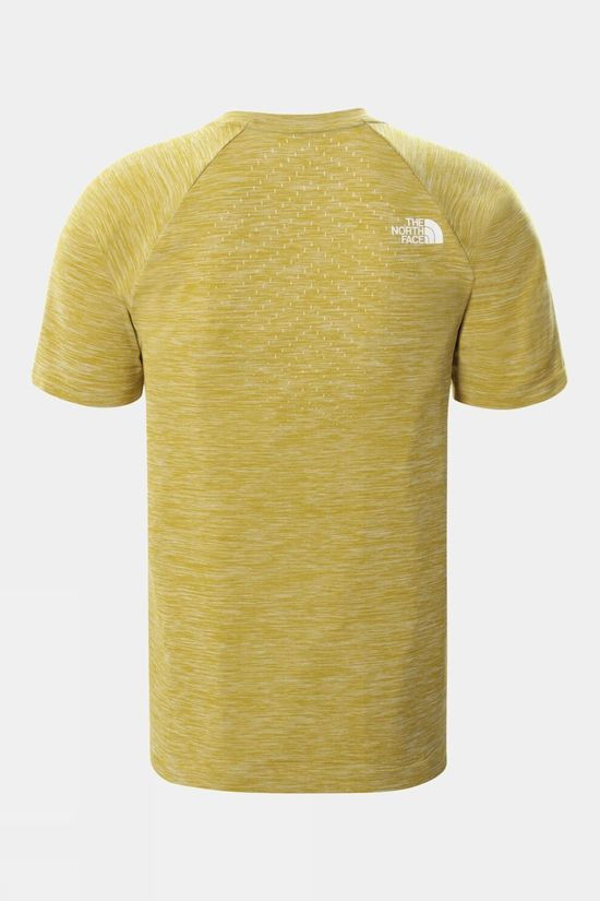 The North Face Mens Impendor Seamless T-Shirt Matcha Green