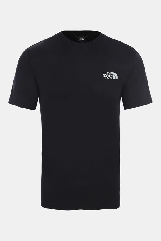 The North Face Mens Reaxion Red Box Tee TNF Black