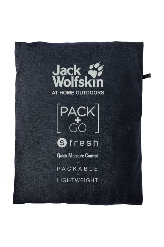 Jack Wolfskin Mens JWP World T-Shirt Night Blue