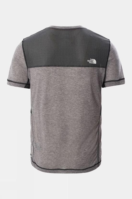 The North Face Mens Circadian Short Sleeve Tee TNF Black White Heather/TNF Black